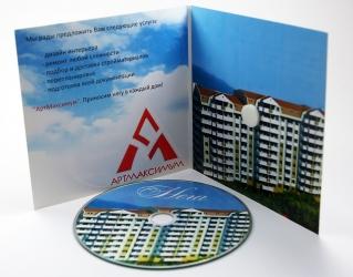Гибкий диджипак CD формата со спайдером.