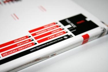 CD digipak, образец печати.