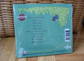 Digisleeve CD для 1 диска, вид на оборотную сторону.