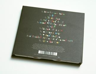Digipak на 1 CD, оборотная сторона.