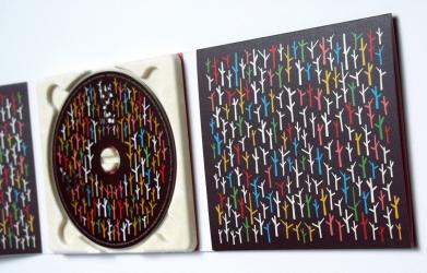 Дигапак СД для 1 диска, вид на разворот и эко-трей.