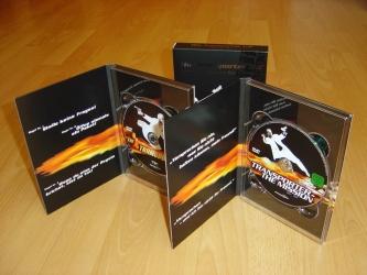 Диджипаки ДВД, вид на разворот.