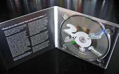 Диджипак, вид на разворот и диск.