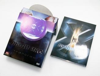 Digipack и DVD бокс