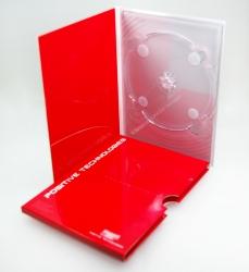 Диджипак DVD формата, 4 полосы, 1 трей, карман под брошюру + слипкейс