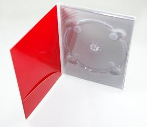 Digipack DVD формата на 1 диск с карманом под брошюру