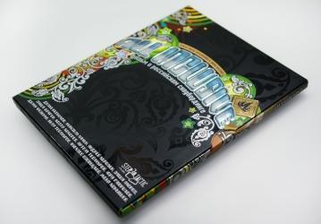 Digipack DVD со слипкейсом - конструкция в сборе