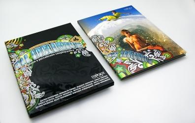 Digipack DVD формата со слипкейсом.