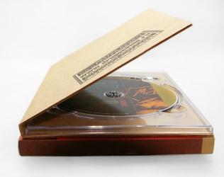 Гофропак DVD - крепление диска в трей.