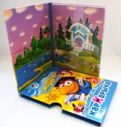 ДВД дигипак со слипкейсом, 4 полосы, с карманом под брошюру.