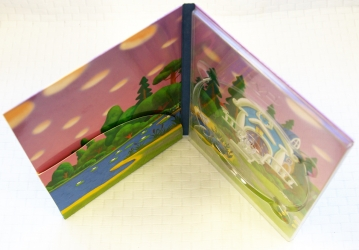 DVD digipack 4 полосы, карман под брошюру