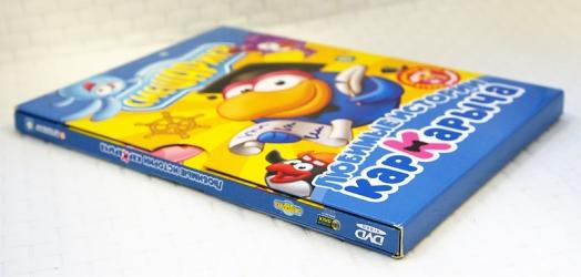DVD digipack 4 полосы с карманом под брошюру + слипкейс. Конструкция в сборе