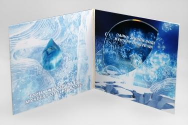 Дигифайл CD формата 4 полосы на 1 диск