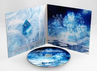Digifile CD на 1 диск, вид изнутри.