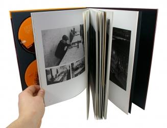 Альбом на 4 диска, вид на разворот.