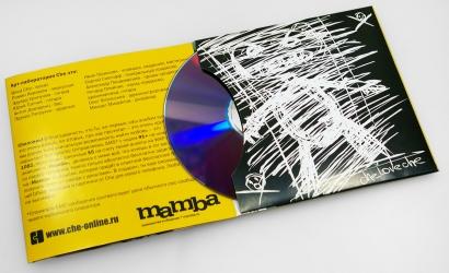 Дигислив CD формата на 1 диск - вид изнутри