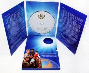 DVD digipack на 1 диск, 6 полос. Слипкейс