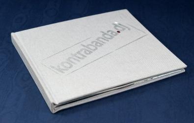 Диджибук CD формата на 2 диска с обложкой из текстиля