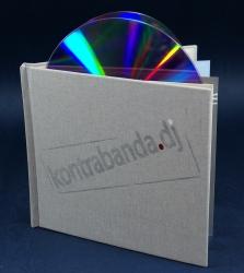Диджибук CD формата на 2 диска - тиснение пигментной фольгой