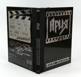 Дигибук DVD формата на 1 диск - оборотная сторона