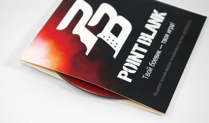 Упаковка для мини cd диска