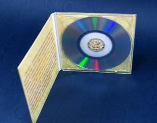 Digipak mini CD/DVD, вид на диск и разворот.