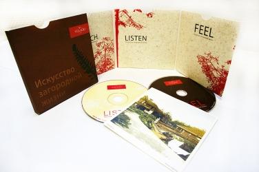 Digisleeve CD формата на 2 диска + буклет+ слипкейс.