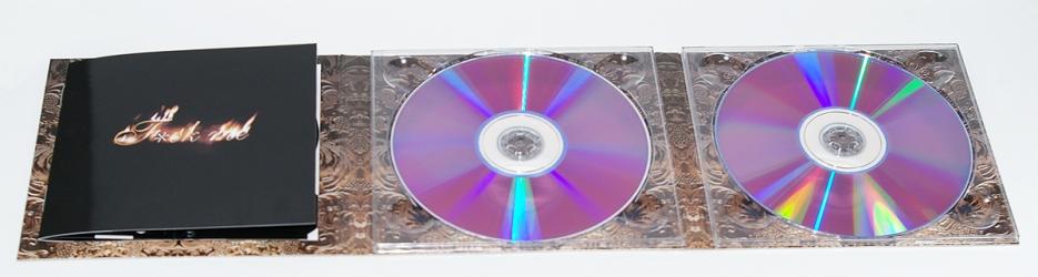 Полный разворот dj pack для двух cd