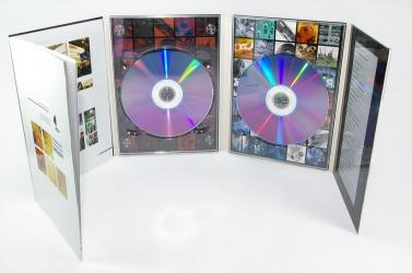 Диджипак DVD формата, 8 полос, 2 диска