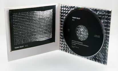 Дигипак CD формата с прорезью под брошюру, вид изнутри