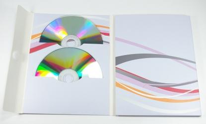 Digi File DVD формата на 6 дисков. Первый разворот