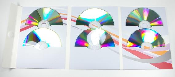 Дигифайл DVD формата на 6 дисков - полный разворот.