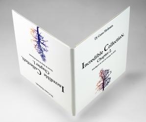Digi sleeve CD формата на 2 диска, креативный переворачиваемый дизайн