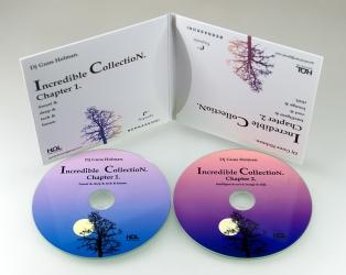 Digisleeve (софтпак) на 2 музыкальных CD диска