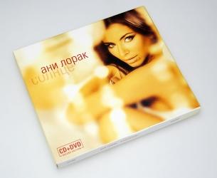 Диджипак CD формата на 2 диска + слипкейс, конструкция в сборе.