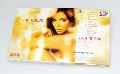 Дигипак CD формата на 2 диска, классическая вставка в слипкейс