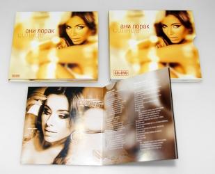 Digipack CD формата на 2 диск + слипкейс + брошюра