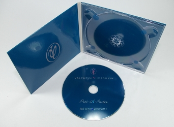 Digipack CD формата, печать по диску шелкографией.