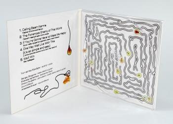 DJ pack CD на 1 диск, вид изнутри