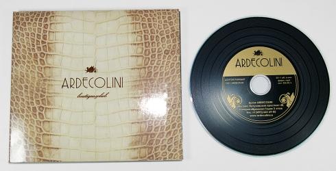 Дигипак CD для 1 диска, диск под винил, лицевая сторона.