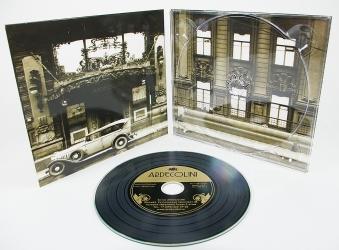 DJ pack CD для 1 диска, диск под винил, пластиковый трей.