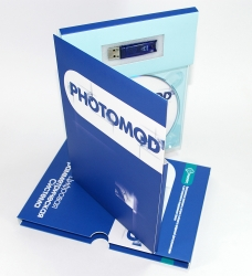 DJ pack DVD формата с одним треем, креплением для usb flash, карманом под букле
