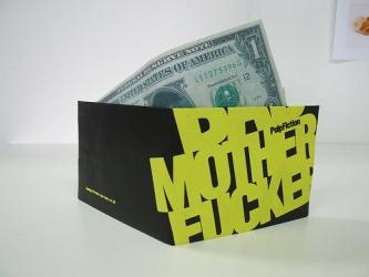 упаковка для мини ДВД диска в виде бумажника