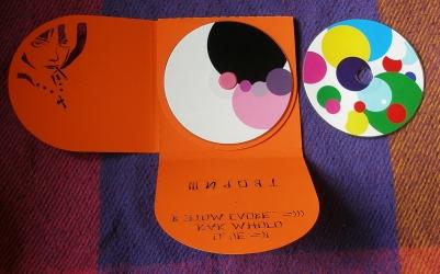 Дигипак CD формата, 8 полос, 3 диска, второй разворот