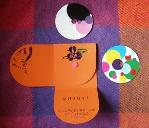Диджипак CD формата, 8 полос, 3 диска, второй разворот