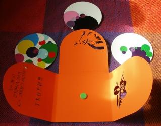 Диджипак CD формата формата, 8 полос, на 3 диска, полный разворот.