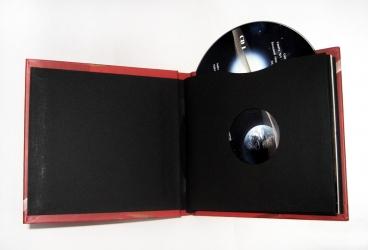 Дигибук на 4 диска в развороте