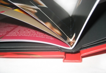 Диджибук на 4 диска, вид на корешок.