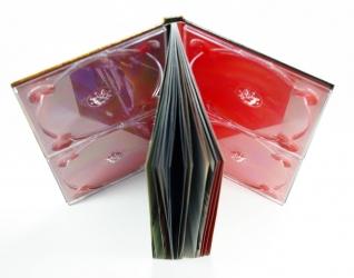 Диджибук для 4х дисков, корешок.