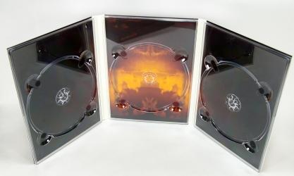 Диджипак ДВД, вид на разворот.